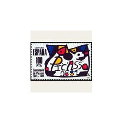 1981 España. Pablo Ruiz Picasso. (Edif.2609) **