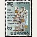 1981 Sellos de España. Año Int. de las Personas Discapacitadas. **