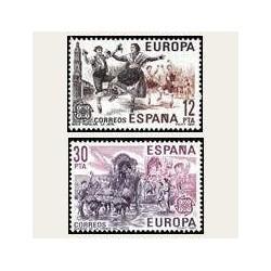 1981 España. Europa CEPT. (Edif.2615/16) **