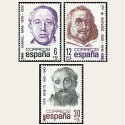 1981 España. Centenarios. (Edif.2618/20) **
