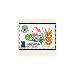 1981 España. Día Mundial de la Alimentación. (Edif.2629) **