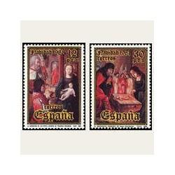 1981 España. Navidad. (Edif.2633/34) **