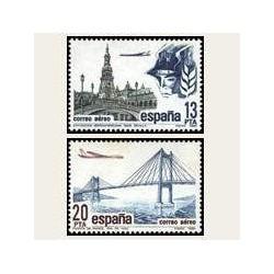 1981 España. Correo Aéreo. (Edif.2635/36) **