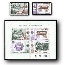 1981 España. Museo Postal. (Edif.2637/41) **