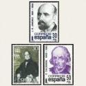 1982 España. Centenarios. (Edif.2646/48) **