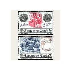 1982 España. Europa CEPT (Edif.2657/58) **