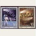 2000 Yugoslavia. Europa CEPT **