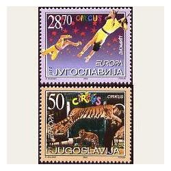 2002 Yugoslavia. Europa CEPT **