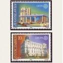 1990 Yugoslavia. Europa CEPT (Yver.2283/84) **