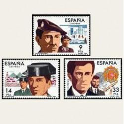 1983 Sellos de España (2692-94). Cuerpos de Seguridad del Estado. **