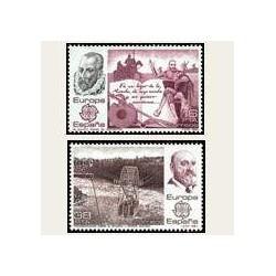 1983 Sellos de España (2703-04). Europa CEPT. **