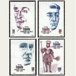1983 Sellos de España (2705-08). Centenarios. **