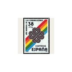 1983 Sellos de España (2709). Año Internacional de las Comunicaciones. **