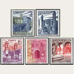 1983 Sellos de España (2724-28). Paisajes y Monumentos. **