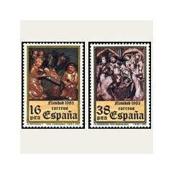1983 España. Navidad (Edif.2729/30) **