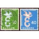 1958 Alemania. Europa CEPT. (Yver.164/65) Ø