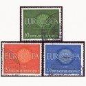 1960 Alemania. Europa CEPT. (Yver.210/12) Ø