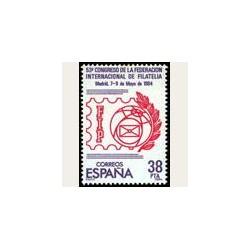 1984 España. Federación Inter. de Filatelia (Edif.2755) **