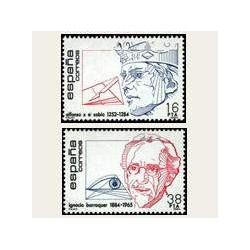 1984 España. Centenarios (Edif.2759/60) **
