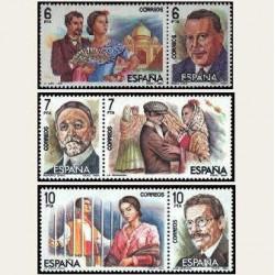 1984 Sellos de España. Maestros de la Zarzuela **