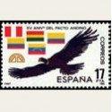 1985 España. Pacto Andino. (Edif.2778) **