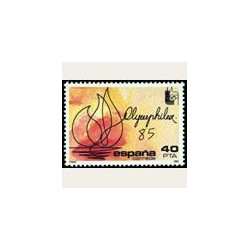 1985 España. Olimphilex. (Edif.2781) **