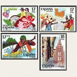 1985 España. Fiestas Populares. (Edif.2783/86) **