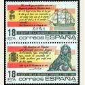 1985 Sellos de España. Bandera Española. **