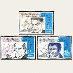1985 España. Año de la Música. (Edif.2803/05) **