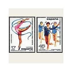 1985 España. Gimnasia Rítmica. (Edif.2811/12) **