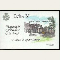 1985 España. EXFILNA. (Edif.2814) **