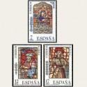 1985 España. Vidrieras. (Edif.2815/17) **