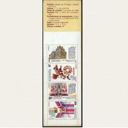 1986 España. España y Portugal en la U.E. (Edif.2825 Carnet) **