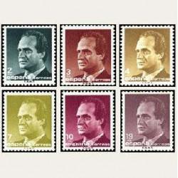 1986 España. S.M. D. Juan Carlos I. (Edif.2829/34) **