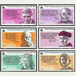 1986 España. V Cent. Des. de América. (Edif.2860/65) **