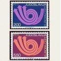 1973 Yugoslavia. Europa CEPT (Yver.1390/91) **