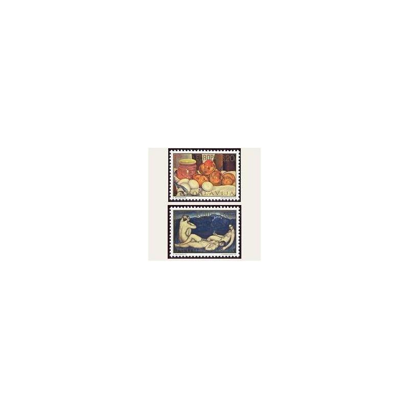1975 Yugoslavia. Europa CEPT (Yver.1479/80) **