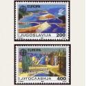 1987 Yugoslavia. Europa CEPT (Yver.2098/99) **