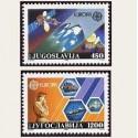 1988 Yugoslavia. Europa CEPT (Yver.2151/52) **