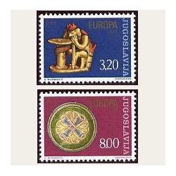 1976 Yugoslavia. Europa CEPT (Yver.1524/25) **