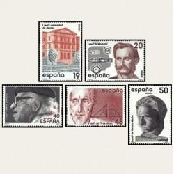 1987 España. Centenarios. (Edif.2880/84) **