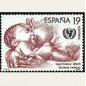 1987 España. Supervivencia Infantil. (Edif.2886) **