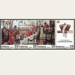1987 Sellos de España. Constitucion de 1812. **