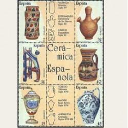 1987 España. Artesanía. Cerámica. (Edif.2891/96) **