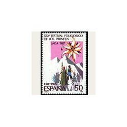 1987 España. Festival Foklórico de los Pirineos (Edif.2910) **