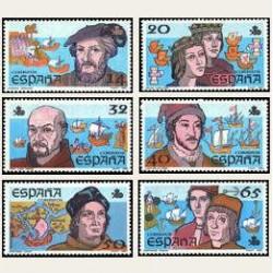 1987 España. V Cent. del Descubrimiento de América (Edif.2919/24