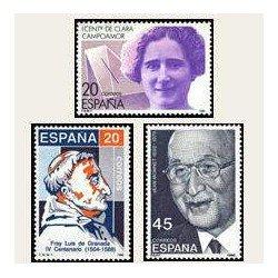 1988 España. Centenarios de Personalidades. (Edif.2929/31) **
