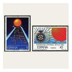 1988 España. Exposición Universal de Sevilla. (Edif.2939/40) **