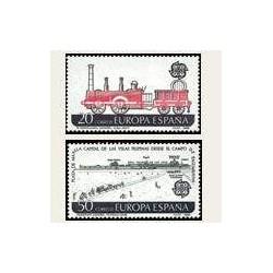 1988 España. Europa CEPT. Transporte y Comunicación. (Edif.2949/