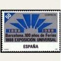 1988 España. Cent. de la Exposición Universal de Barcelona. (Edi